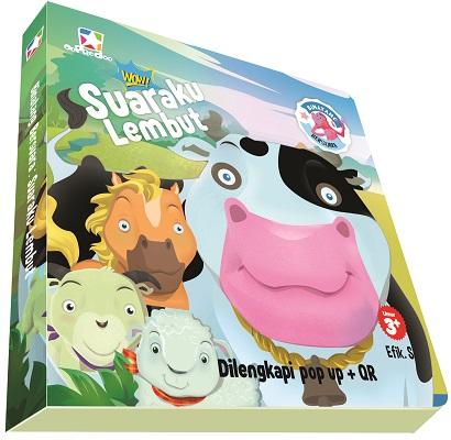 Opredo Board Book Binatang bersuara: Suaraku Lembut