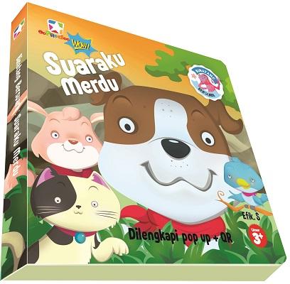 Opredo Board Book Binatang bersuara:  Suaraku Merdu