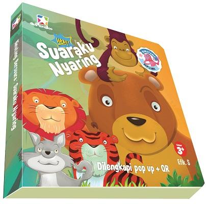 Opredo Board book Binatang bersuara: Suaraku Nyaring