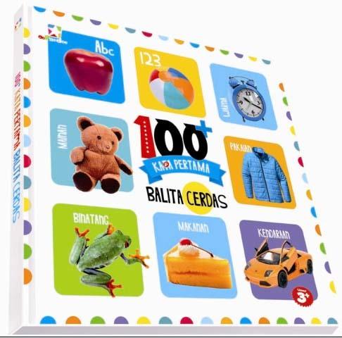 Opredo Board Book 100 Kata Pertama Balita Cerdas