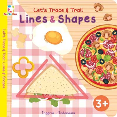 Opredo Let`s Trace & Trail: Lines & Shapes Tim Oopredoo