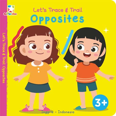 Opredo Let`s Trace & Trail: Opposites