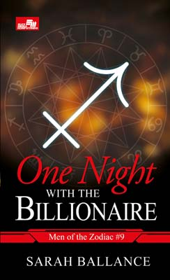 CR: One Night with the Billionaire (Men of the Zodiac #9) Sarah Ballance