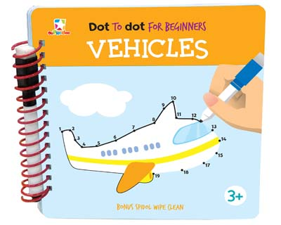 Opredo Dot to Dot for Beginners: Vehicles