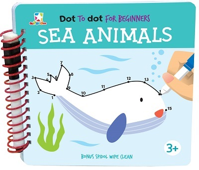 Opredo Dot to Dot for Beginners: Sea Animals