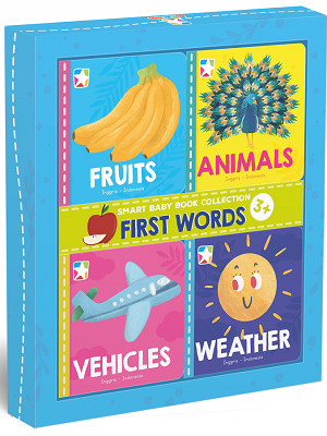 Opredo Smart Baby Book Collection: First Words