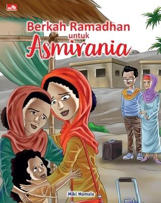 Buku aktifitas puasa Ramadhan ( picture book ) Berkah Ramadahan Untuk Asmirania