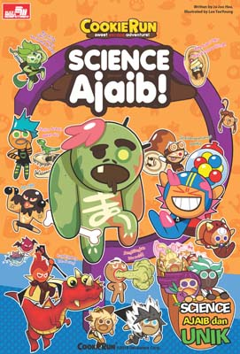 Cookie Run Sweet Escape Adventure! - Science Ajaib!
