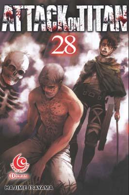LC: Attack on Titan 28 Hajime Isayama