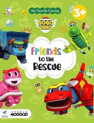 Opredo My Favorite Coloring GoGo Dino: Friends to the Rescue