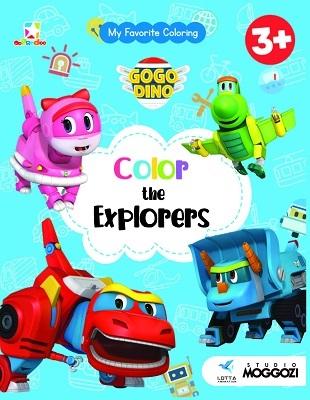 Opredo My Favorite Coloring GoGo Dino: Color The Explorers