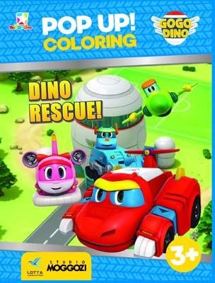 Opredo Pop Up Coloring GoGo Dino: Dino Rescue!