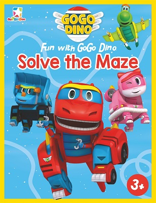 Opredo Fun with GoGo Dino: Solve the Maze