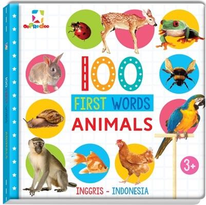 Opredo 100 First Words: Animals