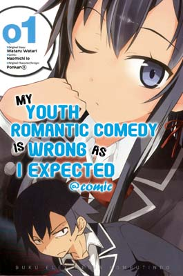 My Youth Romantic Comedy is Wrong as I Expected @Comic 01