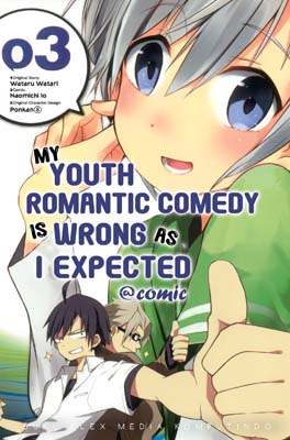 My Youth Romantic Comedy is Wrong as I Expected @Comic 03