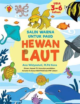 Salin Warna untuk PAUD: Hewan Laut
