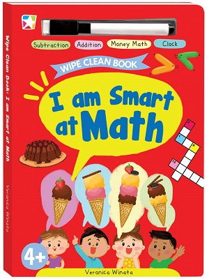 Opredo Wipe Clean Book: I am Smart at Math