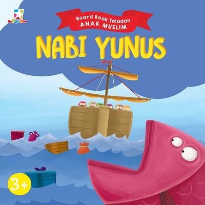 Opredo Board Book Teladan Anak Muslim: Nabi Yunus