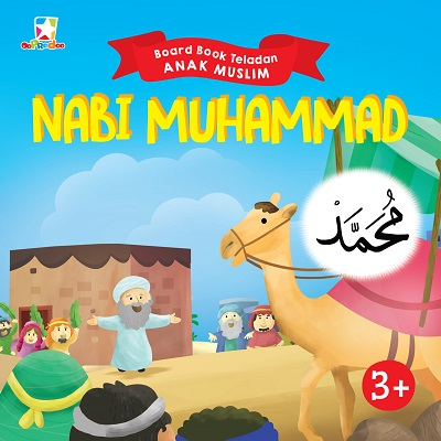 Opredo Board Book Teladan Anak Muslim: Nabi Muhammad