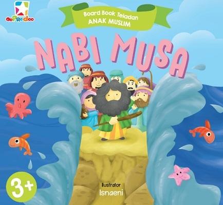 opredo board book teladan anak muslim: nabi musa