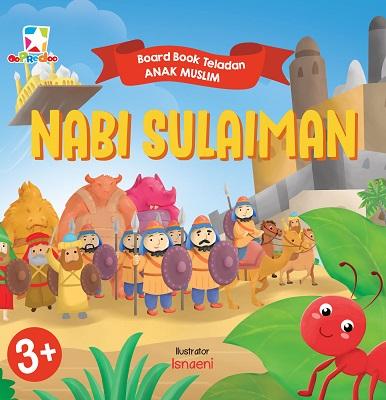 opredo board book teladan anak muslim: nabi sulaiman