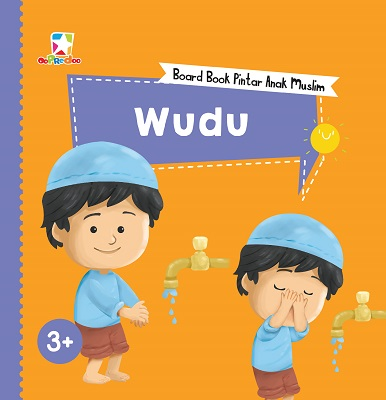 opredo board book pintar anak muslim: wudu