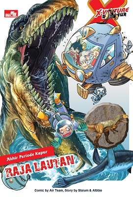 X-Venture Dinosaur - Raja Lautan Kadokawa Gempak Starz
