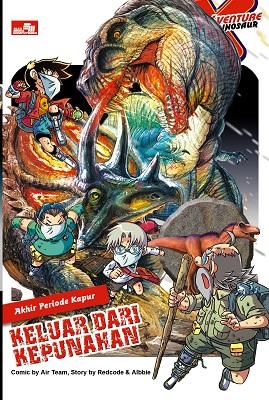 X-Venture Dinosaur - Keluar dari Kepunahan Kadokawa Gempak Starz