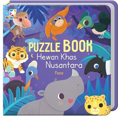 Opredo Puzzle Book - Hewan Khas Nusantara