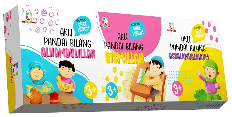 Opredo Koleksi Buku Anak Muslim Aku Pandai Bilang: Bismillah, Alhamdullilah, Assalamualaikum