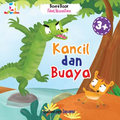Opredo Board Book Fabel Nusantara: Kancil dan Buaya