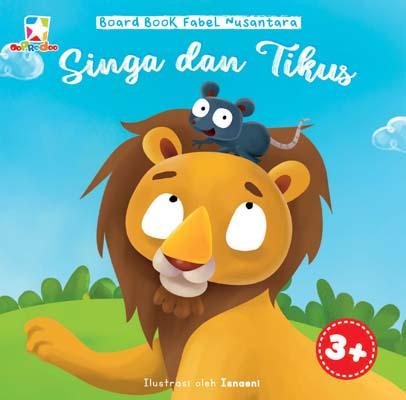 Opredo Board Book Fabel Nusantara: Singa dan Tikus