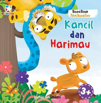 Opredo Board Book Fabel Nusantara: Kancil dan Harimau