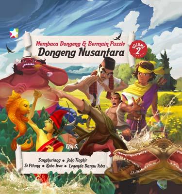Opredo Membaca Dongeng dan Bermain Puzzle Dongeng Nusantara Vol 2