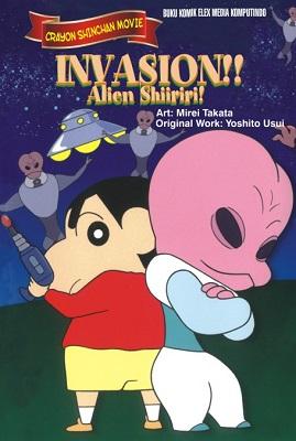 Crayon Shinchan Movie - Invasion!! Alien Shiriri!