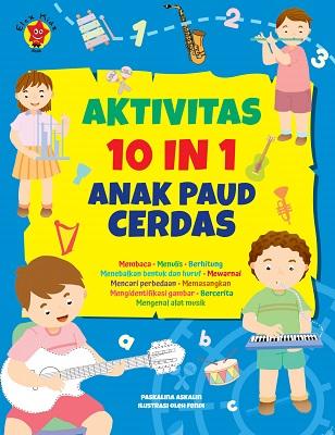 Aktivitas 10 in 1 Anak PAUD Cerdas