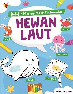 Belajar Menggambar Pertamaku: Hewan Laut