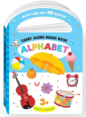 Opredo Carry Along Board Book - Alphabet
