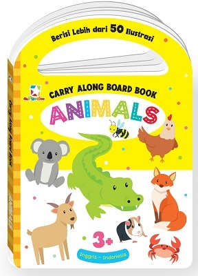 Opredo Carry Along Board Book - Animals