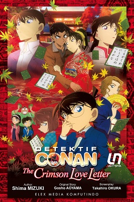 Light Novel Detektif Conan: the Crimson Love Letter