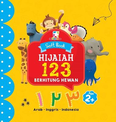 Opredo Soft Book Hijaiah: 123 Berhitung Hewan Tim Oopredoo