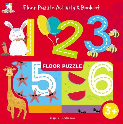 Opredo Floor Puzzle Activity & Book of 123