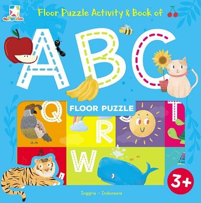 Opredo Floor Puzzle Activity & Book of ABC Tim Oopredoo