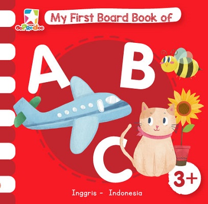 Opredo My First Board Book of ABC