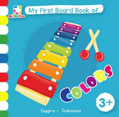 Opredo My First Board Book of Colors