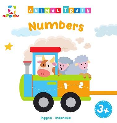 Opredo Animal Train - Numbers Tim Oopredoo