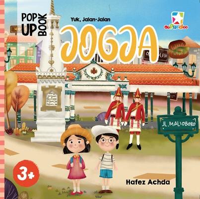 Opredo Pop Up Book Yuk Jalan-jalan Jogja Hafez Achda
