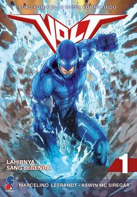Volt 1: Lahirnya Sang Legenda Skylar Comics, Aswin MC Siregar, Marcelino Lefrandt