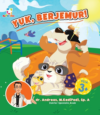 Opredo Board Book Kata Dokter: Yuk, Berjemur!